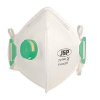 JSP F/Flat Mask FFP1 212 Valved Wht