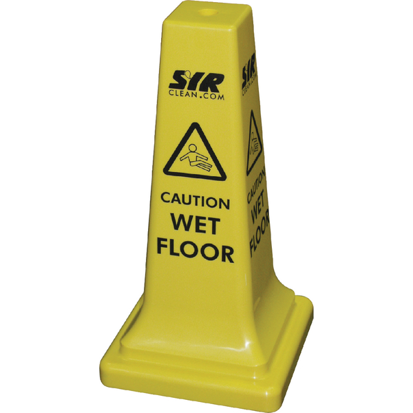 SYR Floor Sign Caution Wet Floor 21 Inches 992387