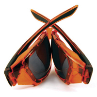 JSP Forceflex Orange Sunglasses (Pack of 1) ASA698-121-100