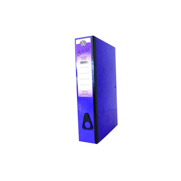 Concord Purple IXL Box Foolscap File (Pack of 10) 264187