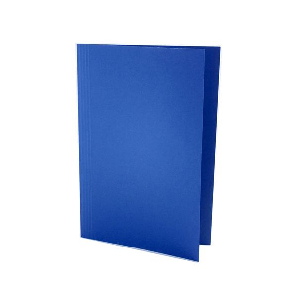 Guildhall Foolscap Blue Mediumweight Square Cut Folder (Pack of 100) FS250-BLUZ