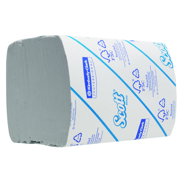 Scott White 2-Ply Bulk Pack Toilet Tissue 300 Sheets (Pack of 36) 8577