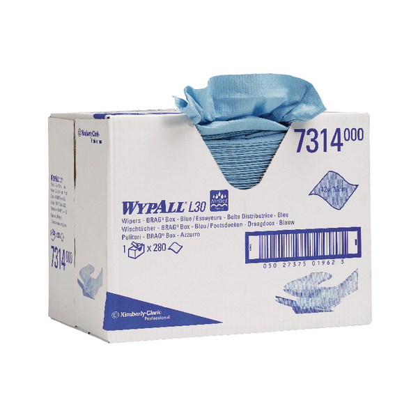 Wypall L30 Blue Wipers Box 280 Sheet 7314