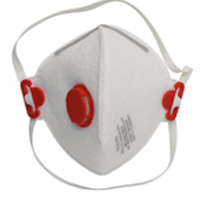 Jackson Safety Orange R30 Valved Respirator (Pack of 1) 62980
