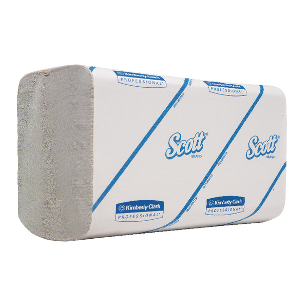 Scott PerFormance Hand Towels Interfolded 1-Ply White 300 Sheets (Pack of 15) 6659