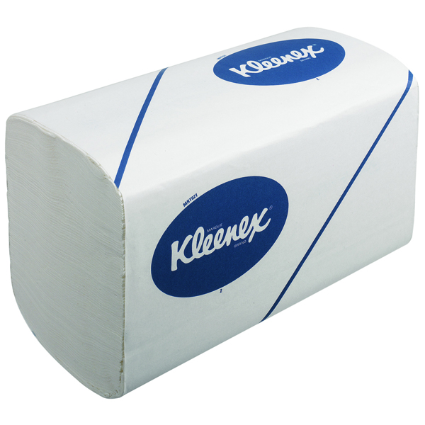 Kleenex Ultra 3-Ply White Hand Towels 96 Sheets (Pack of 30) 6771