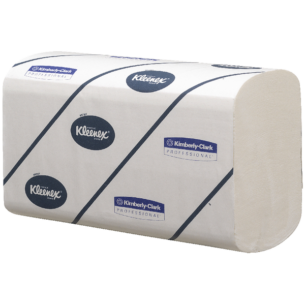 Kleenex Ultra 2 Ply White Hand Towel 124 Sheets (15 Pack) 6778