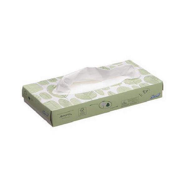 Scott Facial Tissue Standard 100 Sheets (Pack of 21) 8837