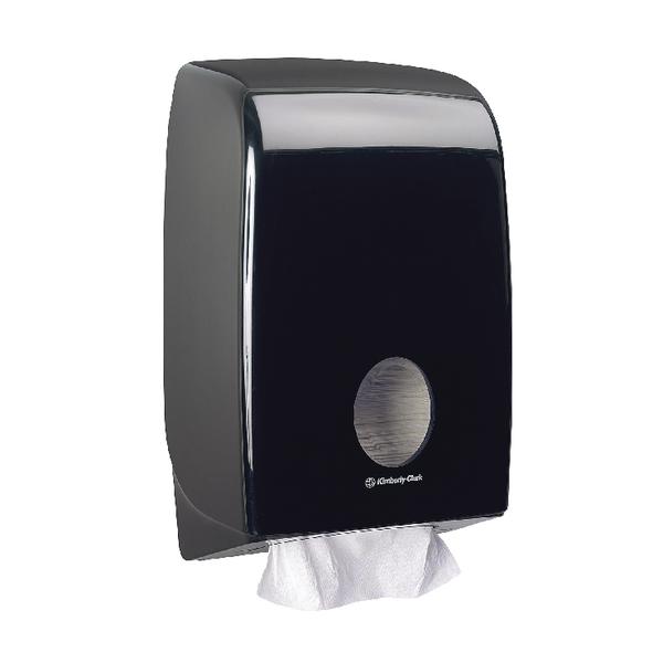 Aquarius Hand Towel Dispenser Black 7171
