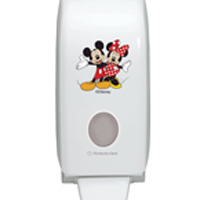 Aquarius Disney Hand Cleanser Dispenser Mickey and Minnie Mouse (Pack of 1) 6856