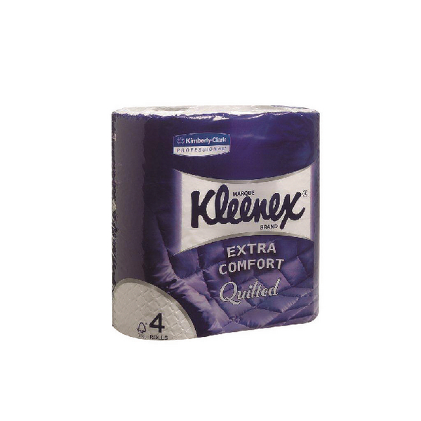 Kleenex Quilted Toilet Rolls (Pack of 6)x4 Rolls 8484