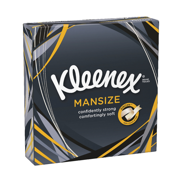 Kleenex Mansize Compact Tissues 44 Per Pack 3717916