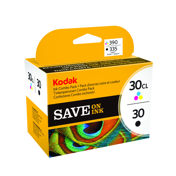 Kodak Combo Ink Cartridge 30B/30C CKMY 3952355