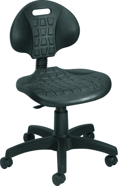 Jemini Factory Chair Polyurethane Black