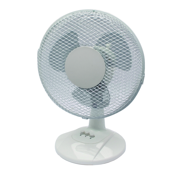 Q-Connect 2-Speed 230mm/9 Inch Desktop Fan