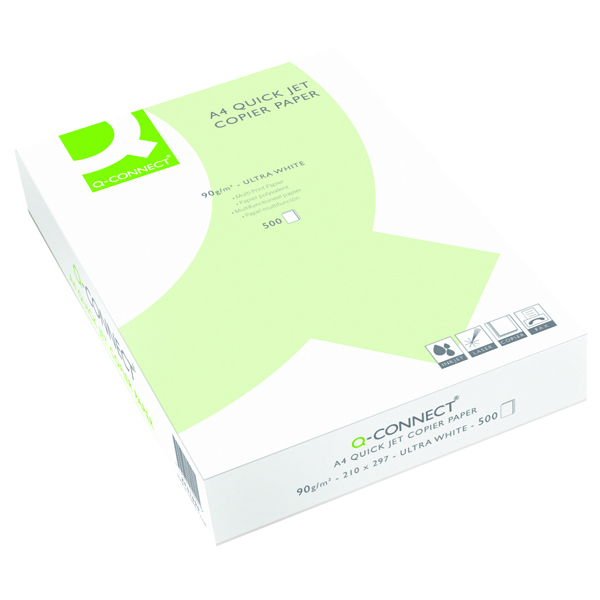 Q-Connect Quick Jet Paper A4 90gsm White Ream