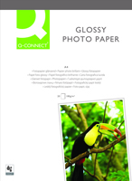 Q-Connect Photo Gloss Paper A4 180gsm Pack of 20