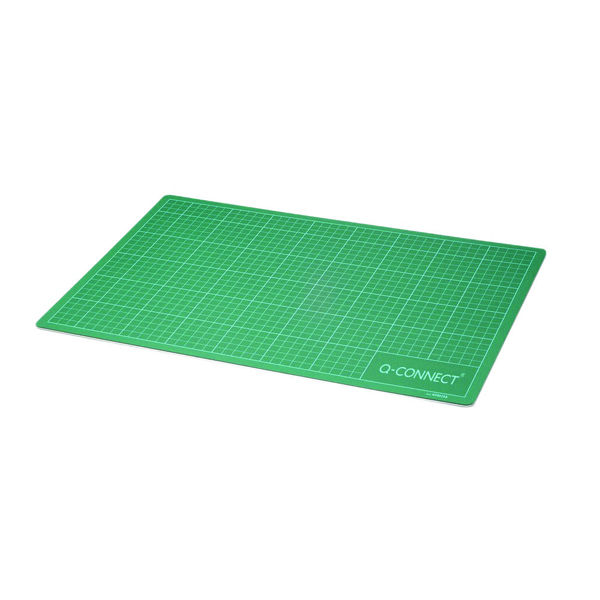 Q-Connect Green A2 Cutting Mat (Pack of 1)