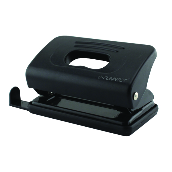 Image for Q-Connect Light Duty Black Hole Punch 875