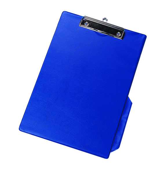 Q-Connect Blue A4/Foolscap PVC Clipboard