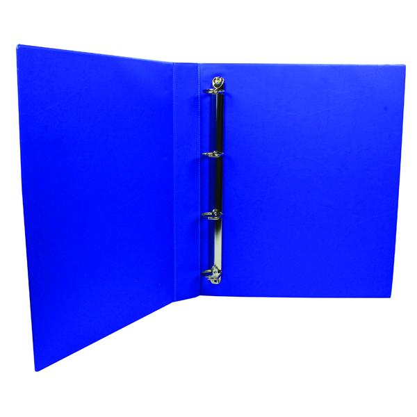 Q-Connect Presentation 25mm A4 Blue 4D-Ring Binder KF01327