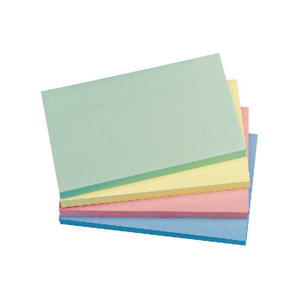 Q-Connect Repositionable 76 x 127mm Pastel Rainbow Quick Notes Pack of 12 KF01349