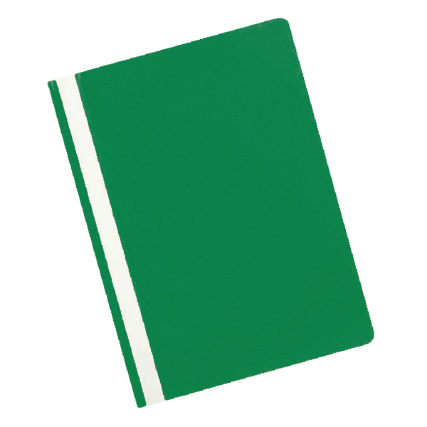 Q-Connect Green A4 Project Folder (25 Pack) KF01456
