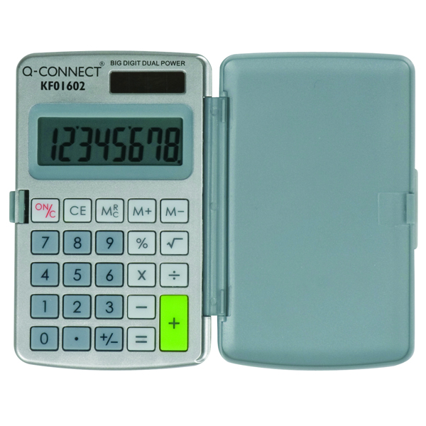 Q-Connect Pocket Calculator 8-Digit