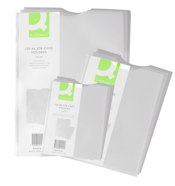 Q-Connect A5 Card Holder KF01948 (Pack of 100)