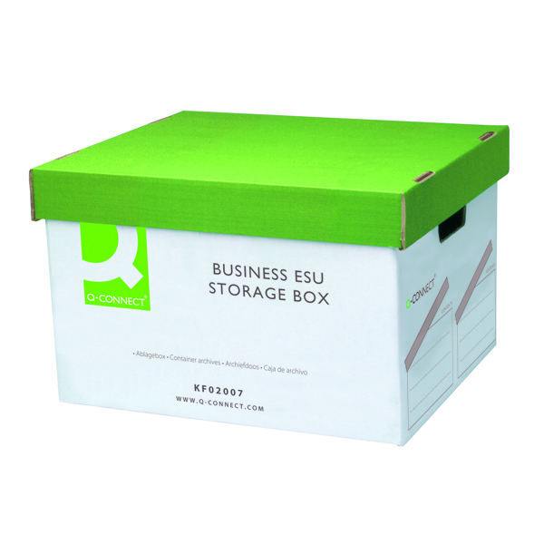 Q-Connect Business Easy Set Up Storage Box