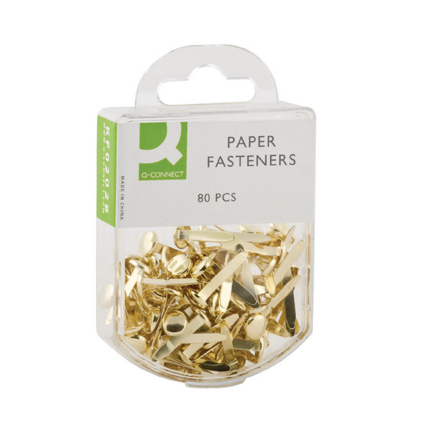 Q-Connect Paper Fastener 17mm Pack of 800