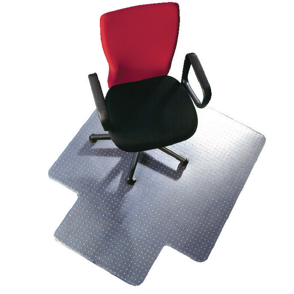 Q-Connect Chairmat PVC 1143x1346mm Clear KF02256