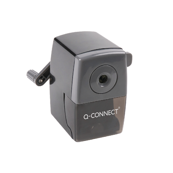 Q-Connect Black Desktop Pencil Sharpener KF02291