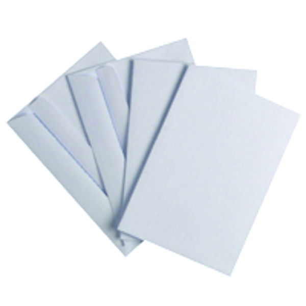Image for Q-Connect C6 Envelope 80gsm White Self Seal (Pack of 1000)