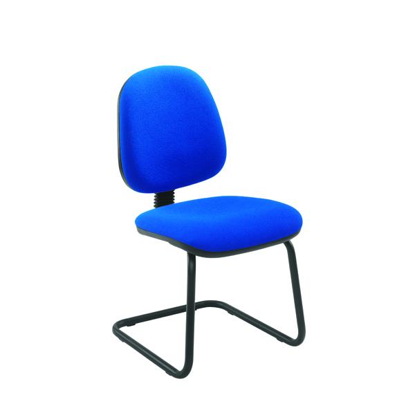 Jemini Medium Back Visitor Blue Chair