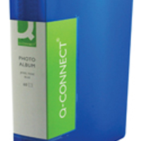 Image for Q-Connect Blue Photo Album 60 Pockets (Pack of 1)
