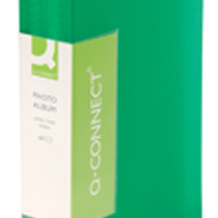 Image for Q-Connect Green Photo Album 60 Pockets (Pack of 1)
