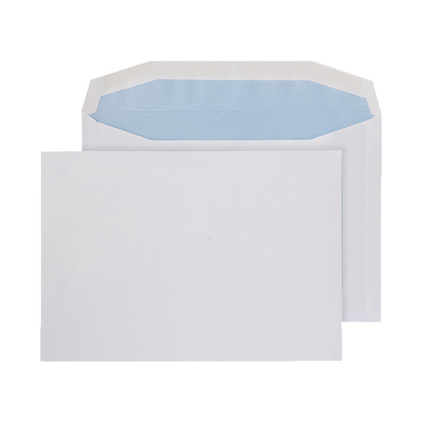 Q-Connect Machine Envelope 162 x 238mm 90gsm Gummed White (500 Pack) KF02897