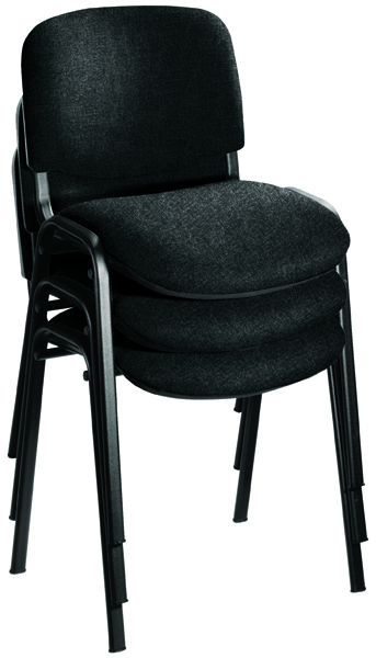 Jemini Charcoal Multi Purpose Stacking Chair