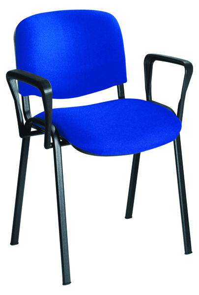 Jemini Black Arms For Stacking Chair (Pack of 2) KF03348