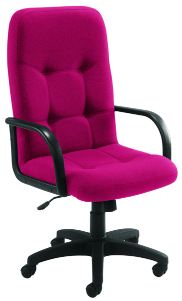 Arista High Back Manager Chair Claret