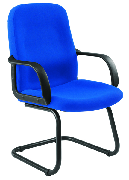 Jemini Visitor Cantilever Leg Blue Chair