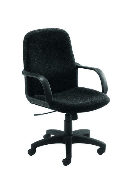 Jemini Manager Star Leg Charcoal Chair