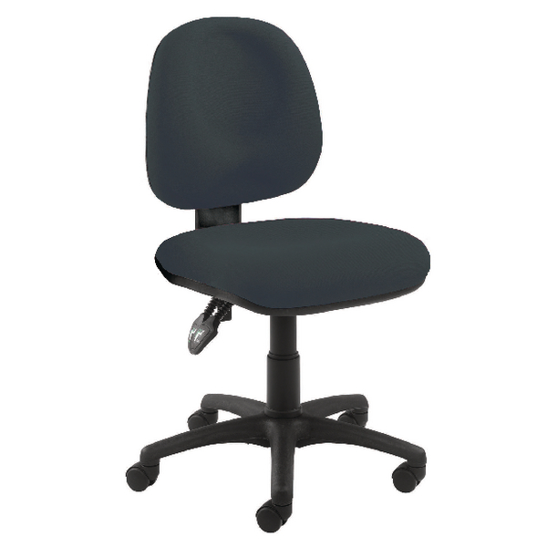 Arista Concept Medium Back Permanent Contact Operator Charcoal Chair
