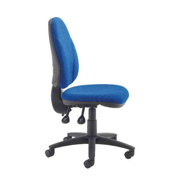 Arista Concept High Back Permanent Contact Operator Blue Chair