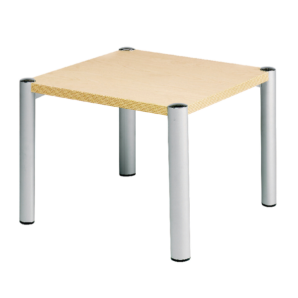 Avior Beech 635x635x460mm Square Table