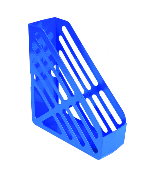 Q-Connect Blue Magazine Rack