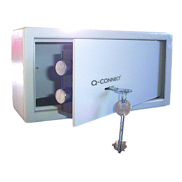 Q-Connect Key-Operated Safe 6 Litre 150x200x200mm