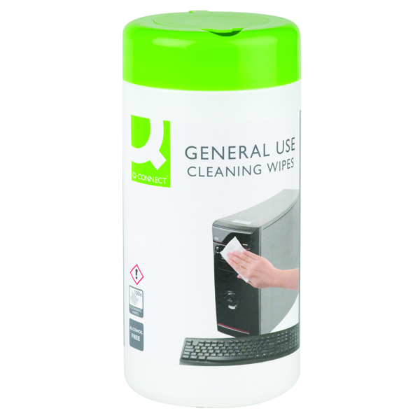 Image for Q-Connect General Use Cleaning Wipes (Pack of 100)