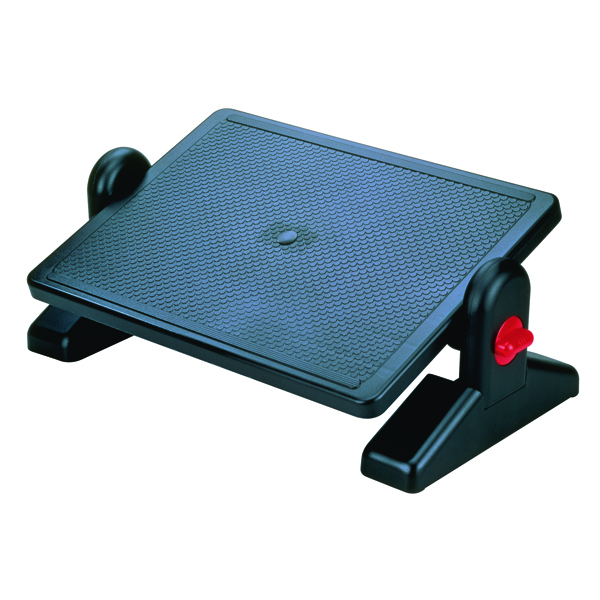 Q-Connect Black Foot Rest 29200-70
